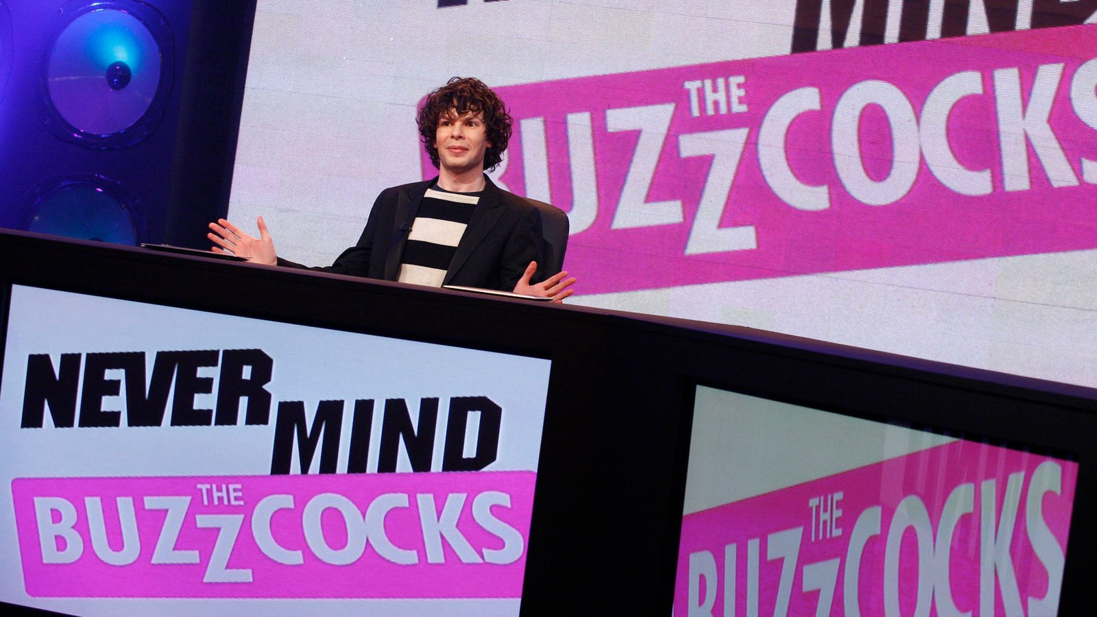 Simon Amstell Never Mind The Buzzcocks
