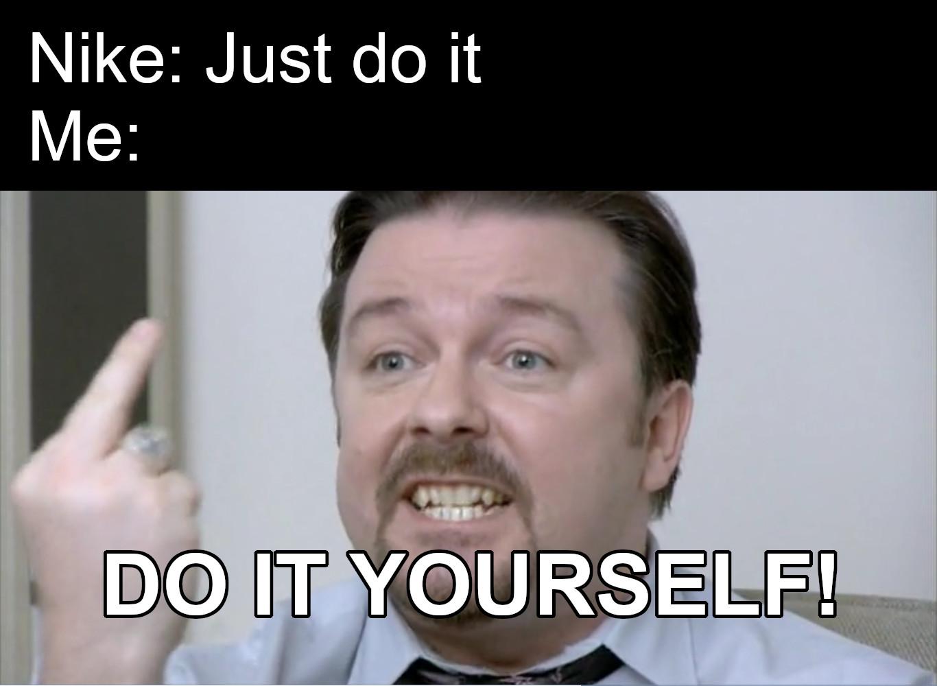 office meme uk cup of tea do it yourself