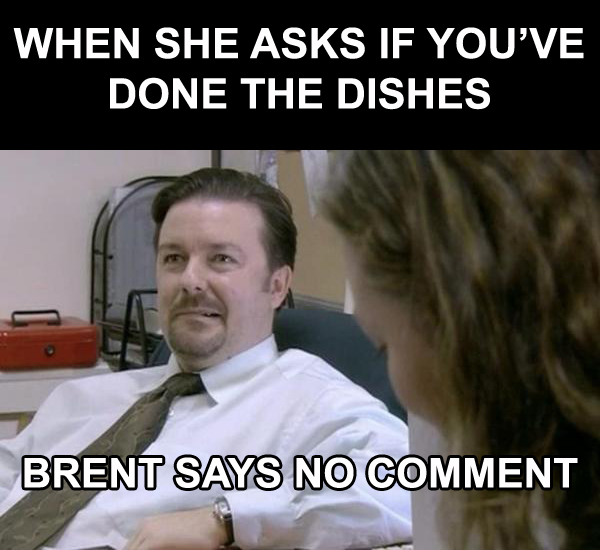 8 Office UK Memes dishes no comment